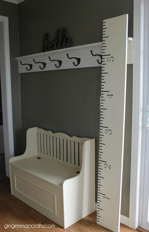 growth chart at GingerSnapCrafts.com