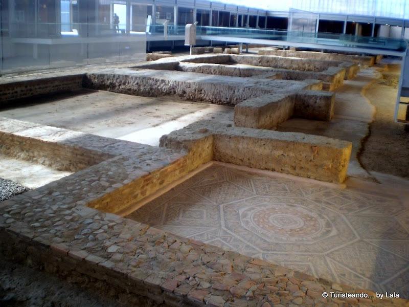Yacimiento arqueológico Villa Romana de La Olmeda, Palencia