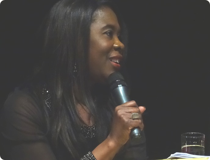 Tessa Sanderson in conversation with Rob Sproston (2)