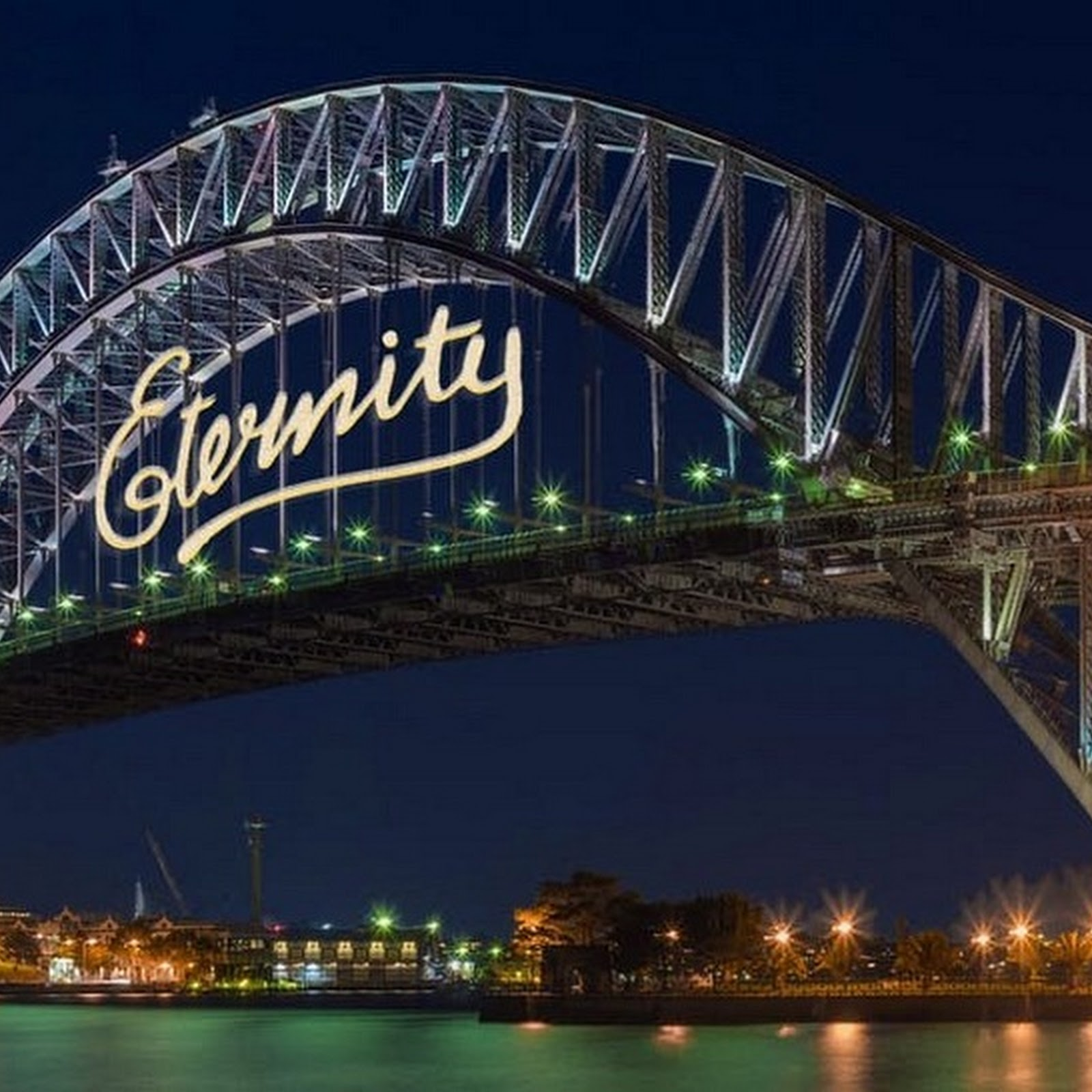 The Story Behind Sydney's 'Eternity' Graffiti