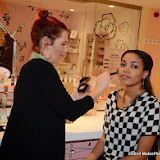 WWW.ENTSIMAGES.COM -   Dionne Bromfield    at  the Benefit Boutique store Carnaby Street Jan 4th 2014                                             Photo Mobis Photos/OIC 0203 174 1069