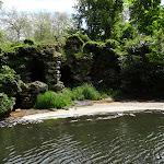 Château de Rambouillet : Jardin anglais, grotte des Amants et La Guéville