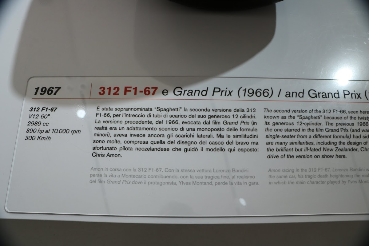Modena - Enzo Museum 0009 - 1967 Ferrari 312 F1.jpg