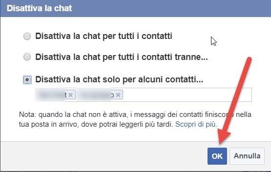 disattivare-chat