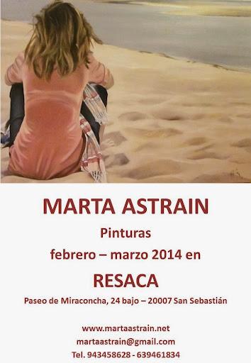 Exposición de Marta Astrain en Resaca,San Sebastian