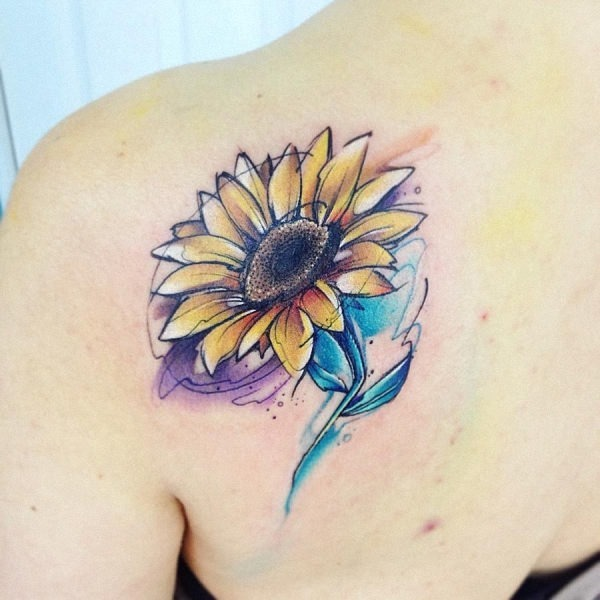 este_deslumbrante_girassol_aquarela_tatuagem