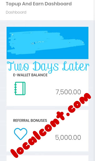 H2I Top-up And Earn - How To Get Registered 3