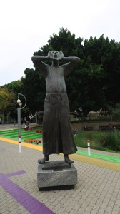 Statue outside ArtGallery of WA