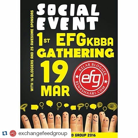 SOCIAL EVENT 1ST EFGKBBA GATHERING 19 MARCH 2016