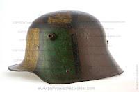 WW I Steel Helmet  with Camouflage