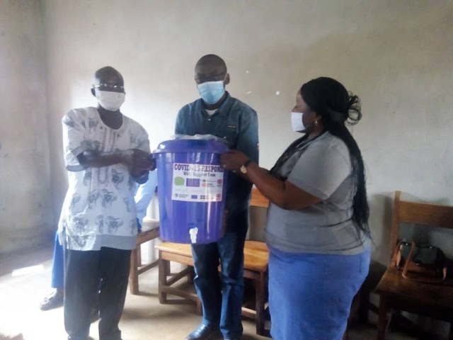 Fight Against Covid-19: UW-CIDT Supports UBa students with kits