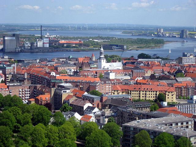 Panorámica de Aalborg, una ciudad vikinga ©Wikipedia