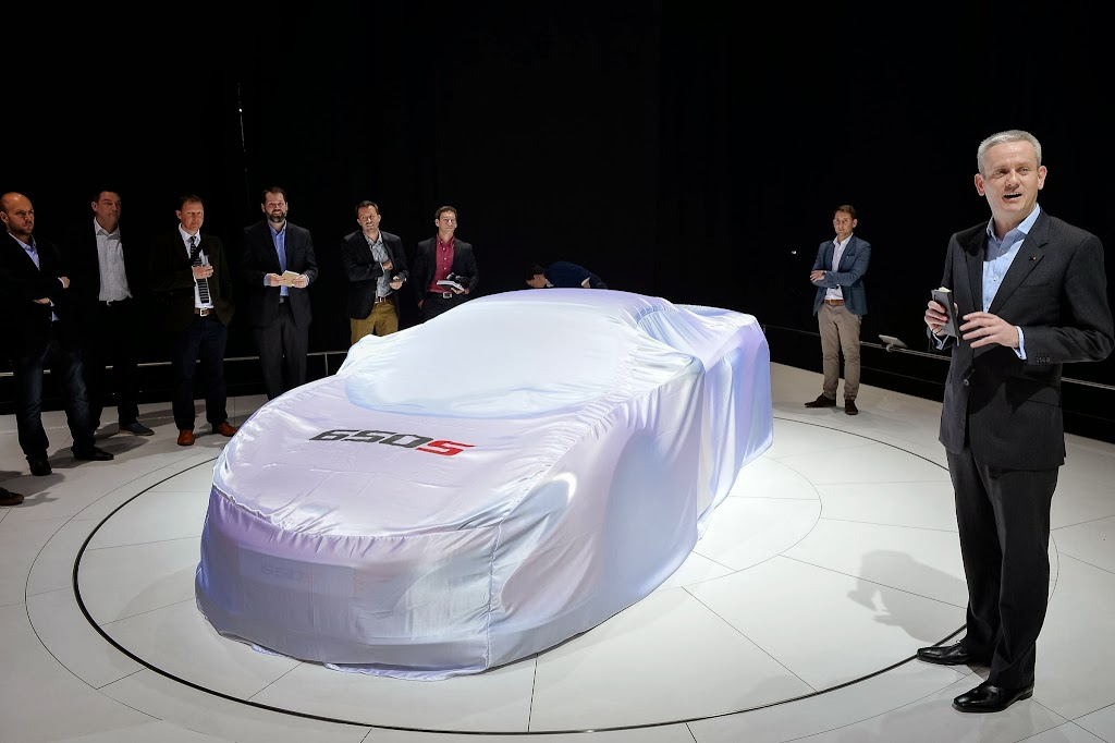 McLaren 650S Spider Geneva Motor Show 15