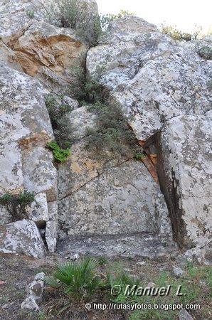 Laja de la Zarga - Silla del Papa