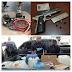 PN ocupa clerén, armas ilegales y apresa 21 prófugos y 25 delincuentes en barrios de SDE