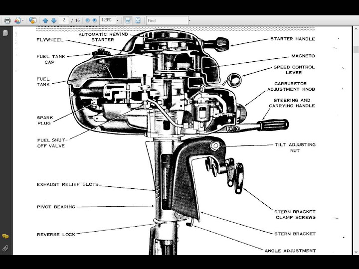 SCOTT OUTBOARD ENGINE WORKSHOP SERVICE MANUALs for Out