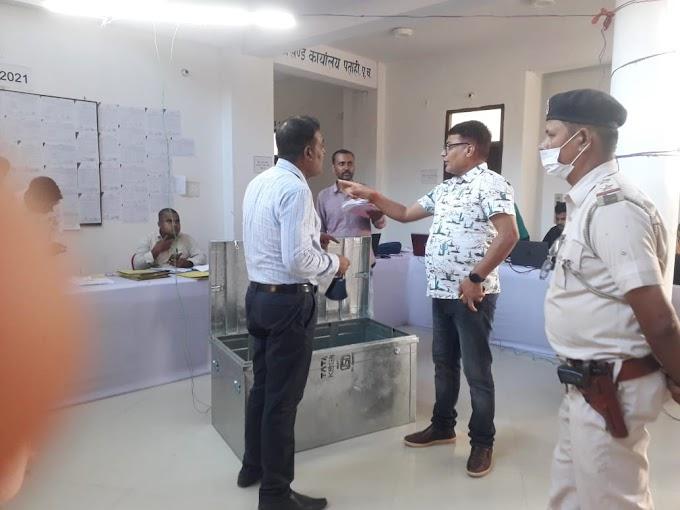 पूर्वी चम्पारण के पताही में नामांकन के पहले दिन 107 उम्मीदवारों ने नामांकन पत्र दाखिल किया।