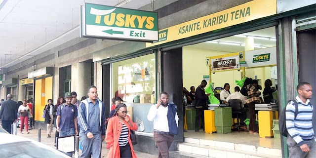 Tusky supermarkets closing their stores due to financial problems