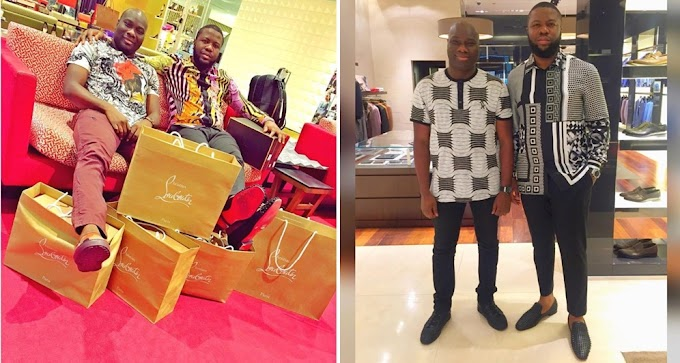 Mompha Exposes Hushpuppi, Claims His Father Is A Taxi Driver And His Mother, A Bread Seller