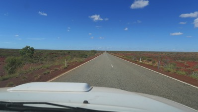 500 kms Long Straight Road