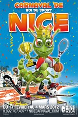 Carnaval de Nice affiche 2012
