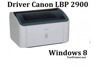 Get drivers Canon 2900 on Microsoft  Windows 8/8.1 64 bit