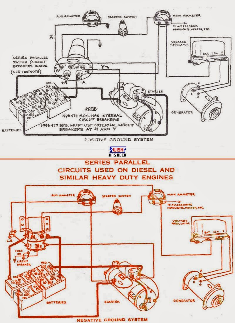 series parallel switch wiring diagram truck house wiring diagram rh maxturner co