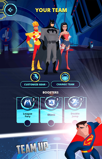 Justice League Action Run for PC