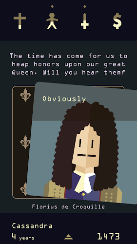 Reigns: Her Majesty Android App Screenshot