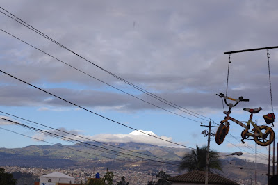 A glimpse at Chimborazo