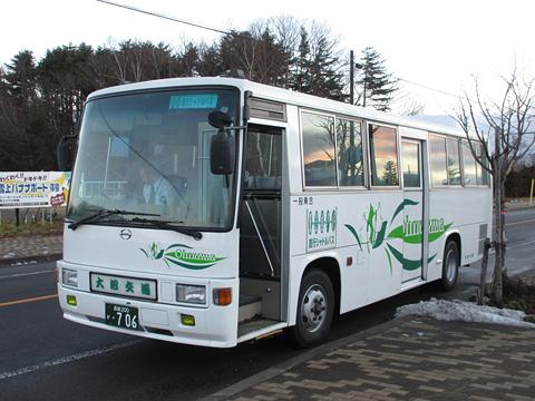 大沼交通「大沼・函館空港シャトルバス」 ・706 その2