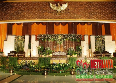 wedding decoration / dekorasi pengantin purbalingga