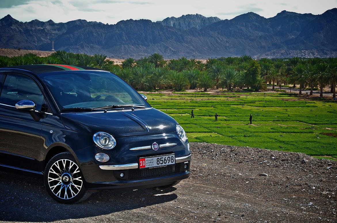 Fiat 500c Gucci