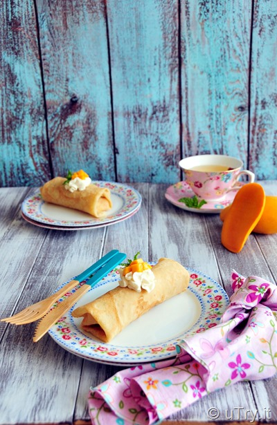 How to Make Fresh Mango Crêpe 芒果法式薄餅 with step by step video tutorial.   http://uTry.it