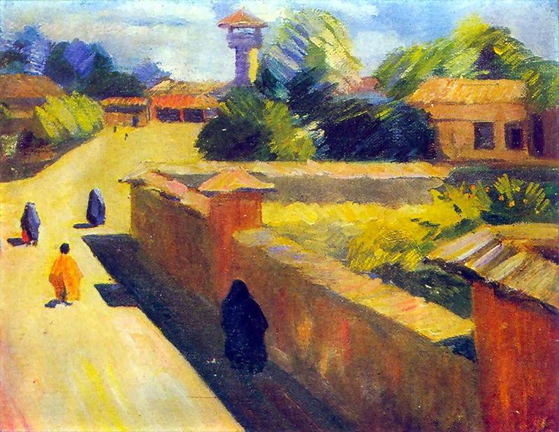 Martiros Saryan - In Barfursh. Persia., 1913