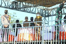 Bupati dan Wabup Saksikan Kehebatan Korps Paskhas di AWR Pandanwangi