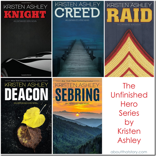 The Unfinished Hero Series by Kristen Ashley