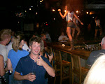 Is nice!  We went to a coyote ugly style bar...every now and then the waitresses danced