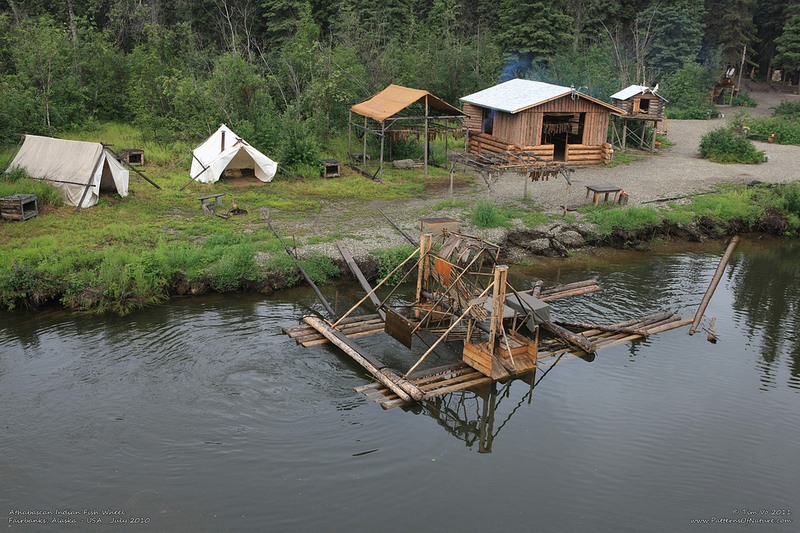 how to make a fish wheel