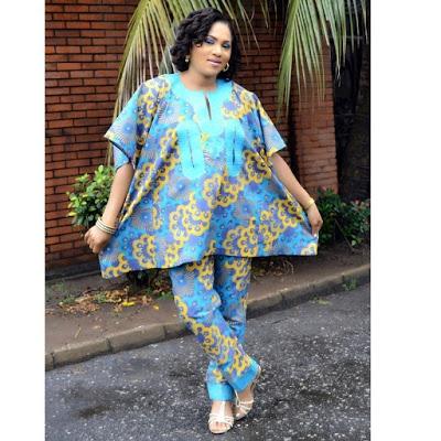 Female Nigerian Women Agbada Styles