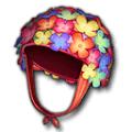 お花のスイムキャップ