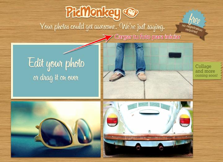 Editar fotos online con Picmonkey,sucesor de Picnik