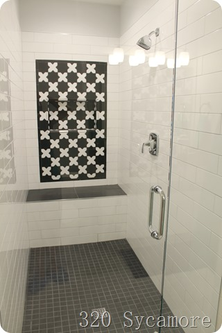 tile pattern shower