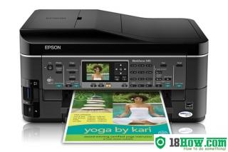 How to Reset Epson WorkForce 545 printer – Reset flashing lights error