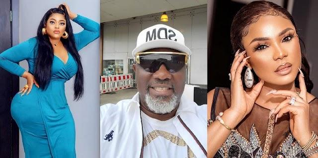 Dino Melaye finally opens on dating Nollywood actresses Biodun Okewo and Iyabo Ojo