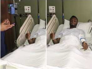 Mikel Obi Undergoes Successful Surgery (Photo)