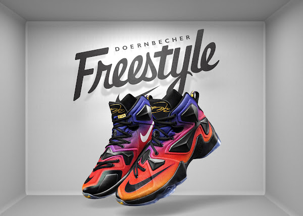 Nike LeBron 13 Joins the Doernbecher Freestyle Collection