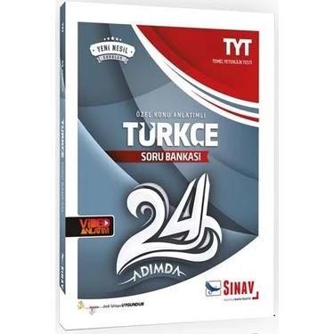 Sınav Yayınları - TYT Türkçe - 24 Adımda Soru Bankası