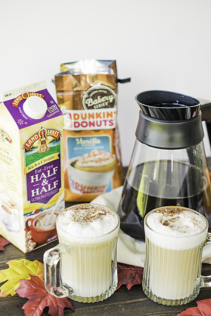 Land O Lakes and Dunkin Donuts for perfect latte recipes