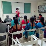 Amazing participation by ladies at the Parent English Language Development Program at MNR MNR-Scotts